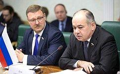 Российские ифранцузские сенаторы насовместном заседании наметили перспективы взаимодействия
