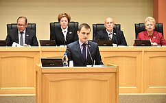 Д. Шатохин принял участие взаседании Государственного Совета Республики Коми
