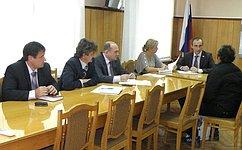 М. Марченко провел личный прием граждан вгороде Дятьково Брянской области