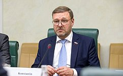 Konstantin Kosachyov: Russia's participation inthe28th APPF session was certainly productive
