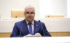 Сенатор Сергей Мартынов: ВМарий Эл принимаются все необходимые меры для борьбы сCOVID-19