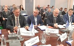 О.Цепкин выступил назаседании Союза промышленников ипредпринимателей Челябинской области
