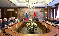 Представители законодательной иисполнительной власти России иБеларуси обсудили перспективы сотрудничества двух стран