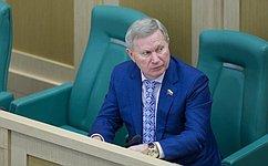 М.Афанасов подвел итоги выездного заседания комитетов Совета Федерации вКисловодск