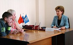 Г. Карелова: Власти Воронежской области эффективно решают масштабные задачи поразвитию социальной сферы