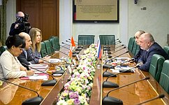 Российские парламентарии готовы кинтенсивному диалогу сперуанскими коллегами— А.Клишас