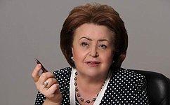 З. Драгункина: ВСовете Федерации я пережила самое конкретное ирезультативное время моей жизни