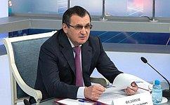 Н.Федоров выступил модератором «круглого стола» попроблемам сохранения Телецкого озера