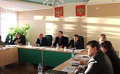 Д. Шатохин посетил Корткеросский район Республики Коми