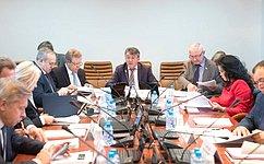 ВКомитете СФ пообороне ибезопасности рассмотрели состояние энергетического обеспечения населенных пунктов РФ