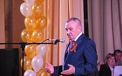 В. Бекетов: Сахарный завод всегда был флагманом производства вУспенском районе. Сегодня предприятие продолжает развиваться ииспользует всвоей работе новейшие разработки итехнологии