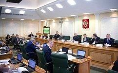 Сенаторы рекомендовали палате одобрить закон, касающийся регулирования тарифов нагаз вКрыму иСевастополе