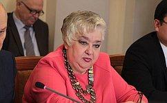 И. Тихонова: Забота одетях всегда была иостается приоритетной задачей государства