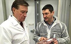 С. Рябухин посетил комбинат школьного питания вУльяновской области