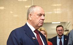 С. Митин посетил Московский государственный университет технологий иуправления им. К.Г.Разумовского