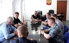 Э. Исаков ознакомился сусловиями содержания осужденных вСургуте