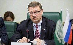 К. Косачев: Саудовская Аравия– важный партнер России наглобальном ирегиональном уровне