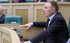 СФ одобрил закон «Обисполнении бюджета Фонда социального страхования Российской Федерации за2015год»