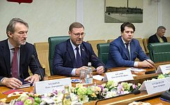 К.Косачев: ВСовете Федерации заинтересованы впоступательном развитии отношений России иГрузии
