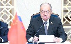 И. Умаханов: Мы будем всячески поощрять укрепление взаимодействия между молодыми парламентариями России иКитая