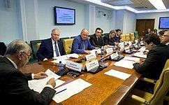 ВСФ обсудили проблемы берегоукрепления морских водных объектов