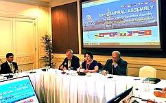 Л.Талабаева: Диалог парламентариев поможет развитию сотрудничества России состранами АСЕАН