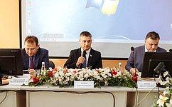 Ю. Архаров принял участие ввыездном заседании Экспертного совета поздравоохранению