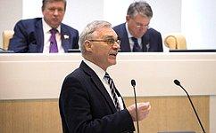 ВСФ выступил директор Санкт-Петербургского научно-исследовательского центра экологической безопасности РАН В.Донченко