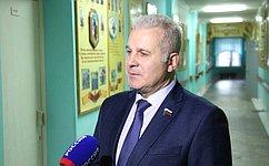 Сенатор Сергей Мартынов поздравил Сернурский район со100-летием