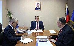 С.Рябухин провел прием граждан вУльяновске