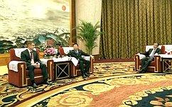 Д.Шатохин посетил Европейско-Китайскую выставку-форум деловой итехнологической кооперации вгороде Чэнду