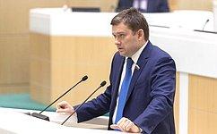 Н. Журавлев: Внесенные мною поправки защитят граждан отсомнительных финансовых операций