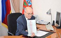 М. Щетинин обсудил сжителями Алтайского края вопросы земельных отношений, водоснабжения сел, благоустройства территорий