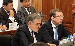 Ю. Бирюков посетил срабочим визитом Республику Калмыкию