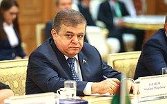 Россия иТуркменистан заинтересованы вактивизации межпарламентских связей– В.Джабаров