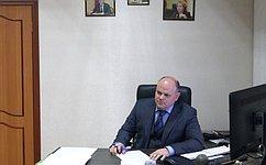 А.Дмитриенко обсудил сжителями Пензенской области проблемы социального характера