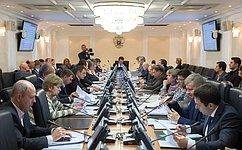 ВСовете Федерации обсудили поправки ковторому чтению проекта бюджета на2018год инатрехлетку