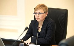 Л. Бокова проинформировала законодательное собрание региона освоей деятельности вСовете Федерации