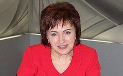 Елена Бибикова: Сегодня институту семьи уделяется особое внимание