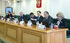 Сенаторы обсудили вопрос освобождения C.Фридинского отдолжности заместителя Генпрокурора РФ– главного военного прокурора