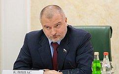 А. Клишас: Совет законодателей России– показательный пример продвижения интересов регионов