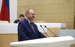 Полномочия сенатора РФ О.Мельниченко досрочно прекращены всвязи сего назначением надолжность врио губернатора Пензенской области