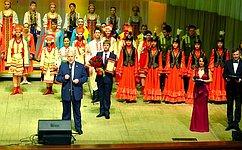 С. Попов поздравил Омский Дом Дружбы сего юбилеем