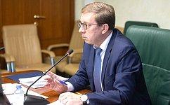 А. Майоров встретился саппаратом Комитета СФ поаграрно-продовольственной политике иприродопользованию