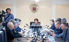 Комитет СФ побюджету ифинансовым рынкам обсудил законопроекты озащите ипоощрении капиталовложений