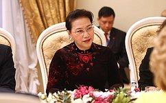 Председатель СФ провела встречу сПредседателем Национального собрания Вьетнама