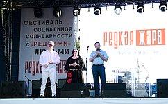 А. Башкин принял участие впрошедшем вАстрахани Социальном фестивале вподдержку людей средкими заболеваниями