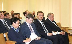Входе рабочей поездки вМарий Эл К.Косачев встретился сруководством региона