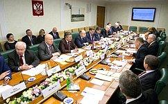 Комитеты Совета Федерации пообороне ибезопасности ипомеждународным делам провели совместное заседание спрофильной Комиссией Кнессета Израиля