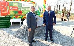 Впоселке Прибрежный началось строительство крупнейшего наКубани хранилища для переработки плодов— А.Кондратенко